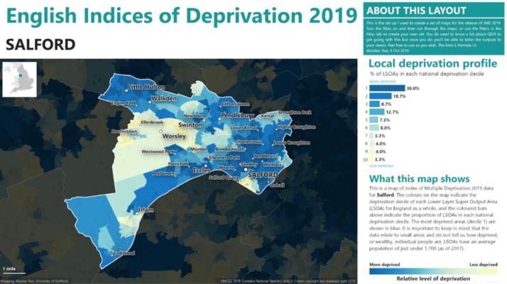 Screenshot of Alasdair's template local authority IoD profile