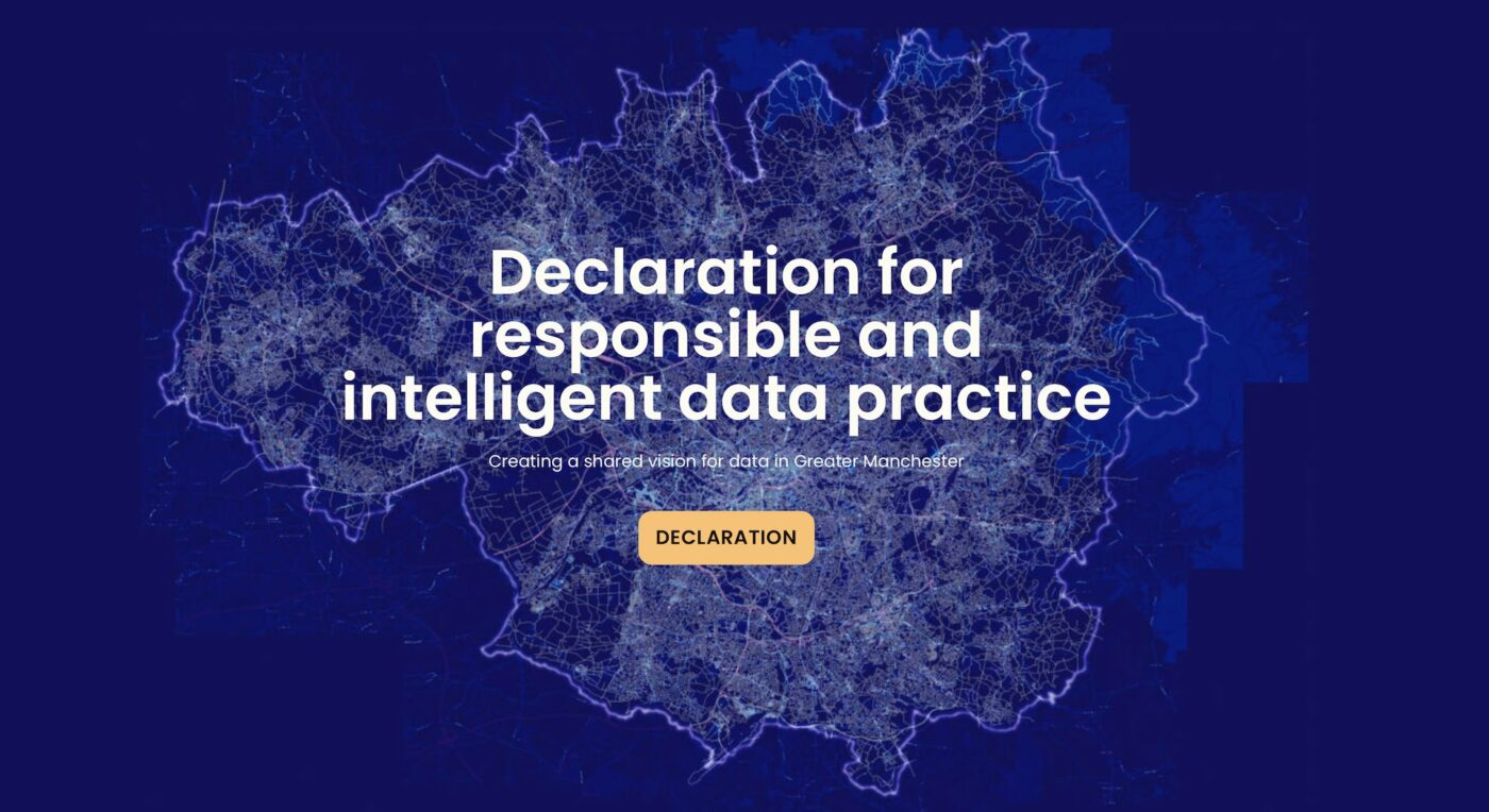 Declaration for responsible and intelligent data use