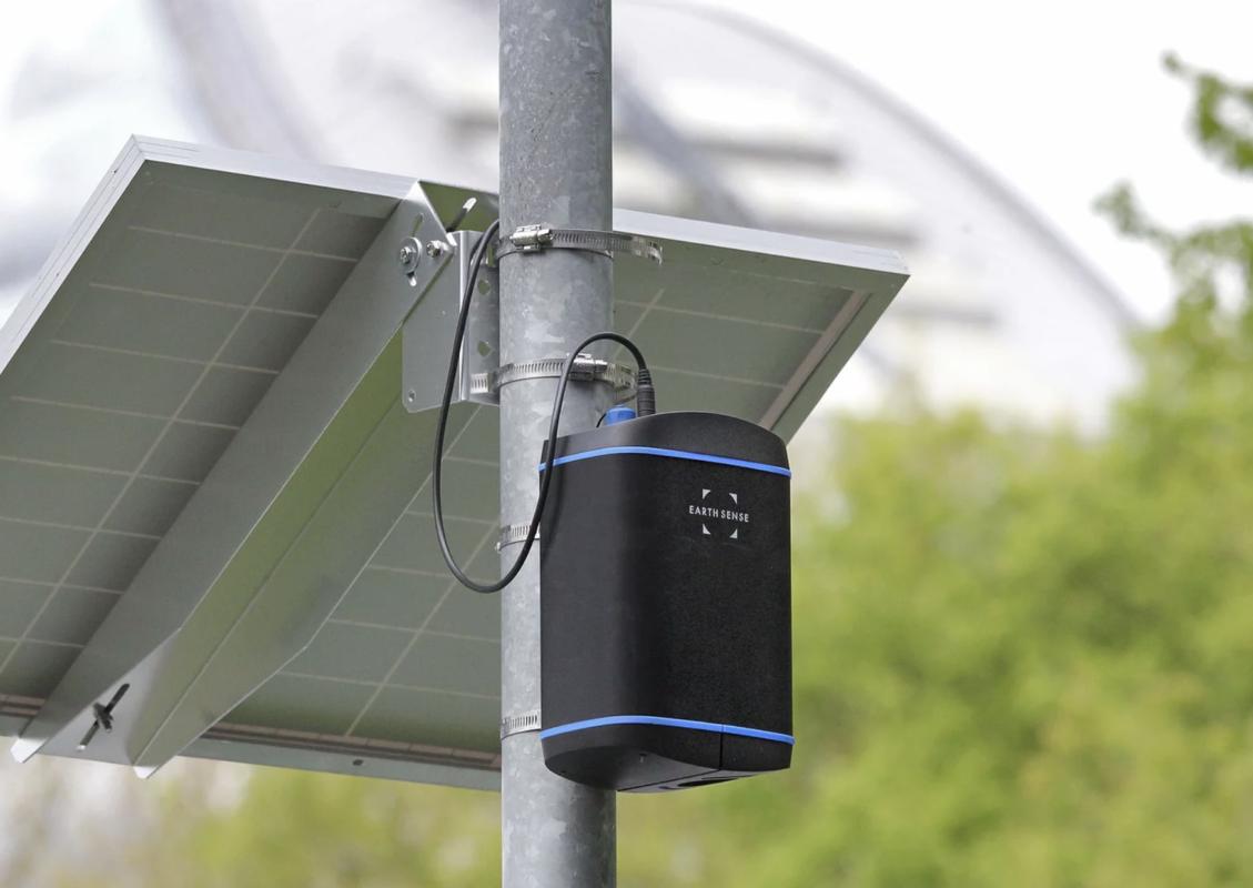 Image on an Earthsense Zephyr air quality sensor